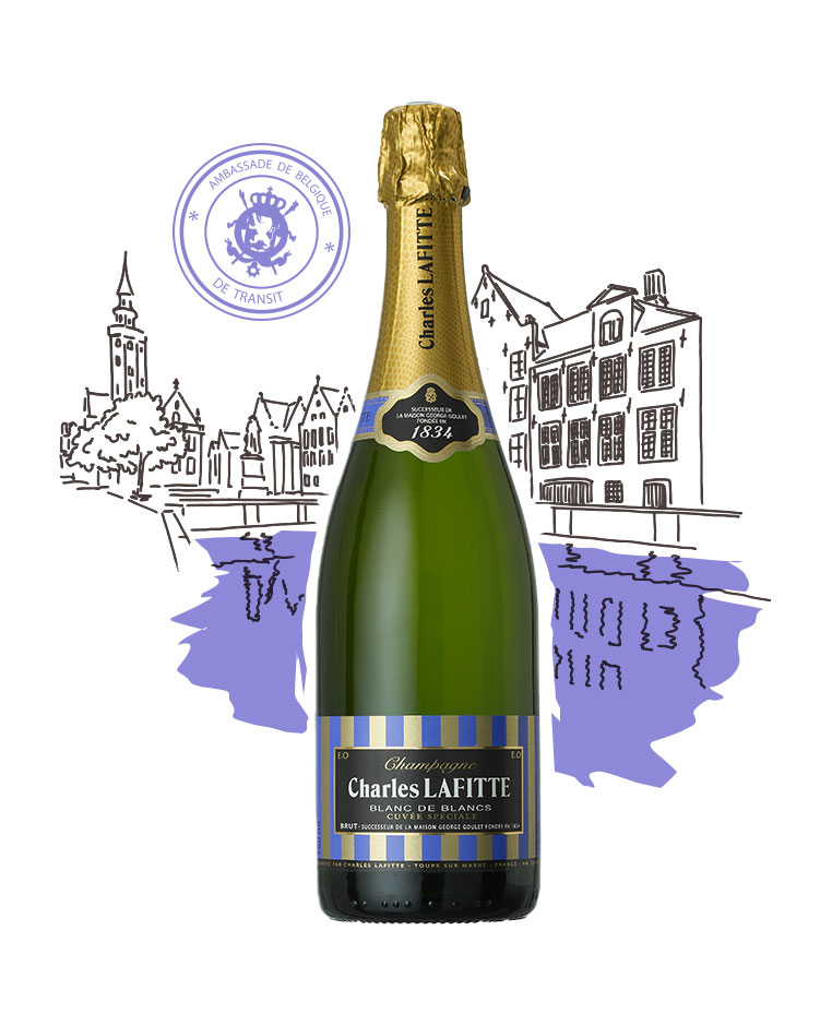 Charles Lafitte 1834 - Blanc de blancs - Champagne Charles Lafitte