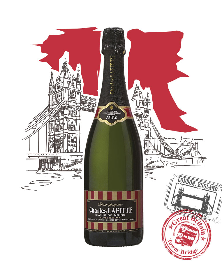 Charles Lafitte 1834 - Blanc de noirs - Champagne Charles Lafitte
